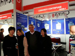 Lu Xiang instrument Exhibitor 2014 medical exhibition in Dusseldorf, Germany